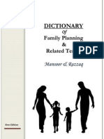 Dictionary Family Planning