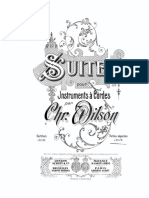 WILSON, Chris. Suite for String Orchestra VN I