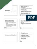 Nfpa 72 2010 Update PDF