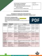SG-SST - Cronograma de Actividades