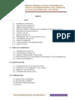 Perfil Técnico Defensa Ribereña