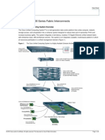 Data Sheet for UCS 6100 Series Fabric Interconnects 20100629