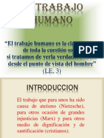 6. El Trabajo Humano