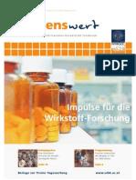 wissenswert 11 - Magazin der Leopold-Franzens-Universität Innsbruck