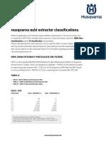 H Classification DSM 180605