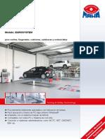 Línea de Pruebas. Modelo_ EUROSYSTEM. Para Coches, Furgonetas, Camiones, Autobuses y Motocicletas. Testing & Safety Technology