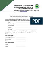 Form Ijin Pulang Dalam Jangka Waktu Tertentu.doc
