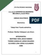 Fuente Asimetrica Electronica.