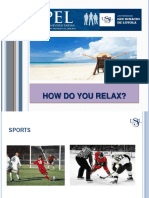Week 3 Session 1 - How Do You Relax