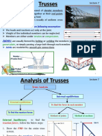 Truss Analysis- Method Joint n Section