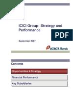 2007 09 ICICI Bank&Pru Life Investor Presentation