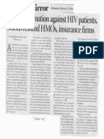 Business Mirror, Feb. 27, 2019, No discrimination against HIV patients solons reminds HMOs insurance firms.pdf