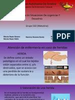 Heridas En Urgencias