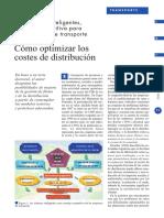 Optimizar Costos de Distribucion Materiales
