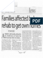 Manila Times, Feb. 27, 2019, Families affected by bay rehab to get own homes.pdf