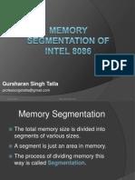 8memory Segmentation of 8086