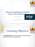 Jurnal Reading Aspiration With Ethanol Sclerotherapy