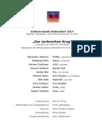 Pressemappe'Der Zerbrochne Krug'SSK2017