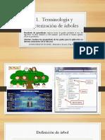4.1. Terminología y Caracterización de Árboles