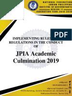 Academic Culmination 2019