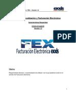 Ecuador Req. Servidor FEX-WEB