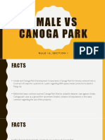 Umale vs Canoga