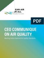 AQ CEO Communique