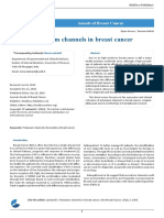 Potassium Channels in Breast Cancer