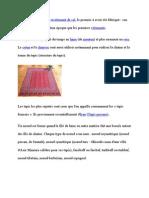 Le tapis est un type de revêtement de sol