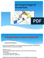 Pengetahuan Tenaga Penggerak Dan Hydraulic