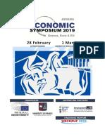 Economic Symposium 2019_AGENDA