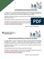 Jornada Lúdico Esportiva 2019