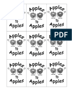 Apples to Apples - Card Backs