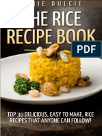 The Rice Recipe Book_ Top 30 de - Lorie Dulcie