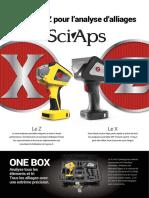 SciAps X & Z Alliages + PMI