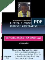 DDS-QHSE - A Ética e Conduta No Ambiente Corporativo - LD-AO_18-MAIO-2018
