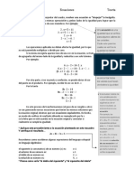 Guía  y ejercicios de ecuaciones