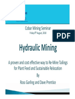 Cobar 1540 Ross Garling Hydraulic Mining