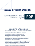 Basic of Boat Design