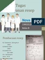 Tugas pelayanan resep