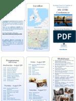 eftre conference 2019 flyer