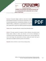 Curutchet, C. (2015). Las Colecciones Escolares y Las Prácticas de Lectura Literaria de Poesía en Las Aulas. Revista Catalejos