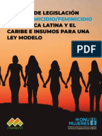 Informe Analisis de Leyes de Femicidio en ALC Dec 3 2018compressed
