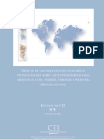 Impacto de Las Negociaciones Internacionales Sobre Las Economias Regionales-2004