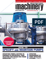 Turbomachinery International Pump Specification