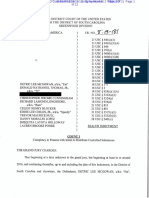Federal Grand Jury Indictment, Detric Lee McGowan and Others