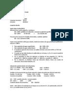 Diseño de La Bocatoma de Fondo Ejemplo 1