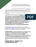 el trabajo interdisciplinario para el campo de la salud