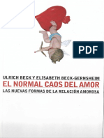 El normal caos del amor