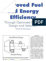 Improved Fuel and Energy Efficiency